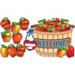 Giant Apple Basket! Bulletin Board