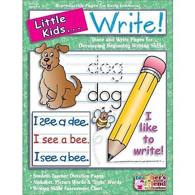 Little Kids . . . Write!
