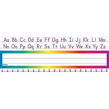 Alphabet-Number Line (Standard) Name Plates