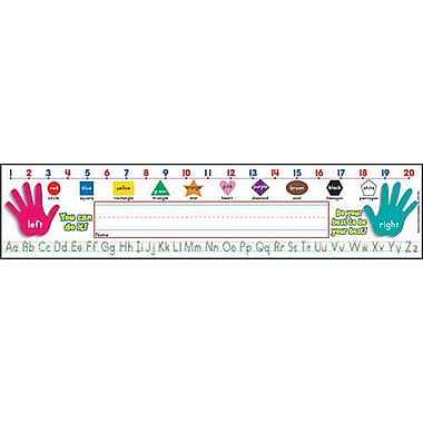 Super School Tool Name Plates Primary Grades (Standard Manuscript)