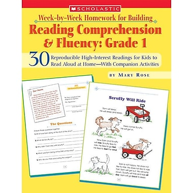 Week-by-Week Homework for Building Reading Comprehension and Fluency: Grade 1