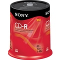 Sony 100/Pack 700MB CD-R, Spindle