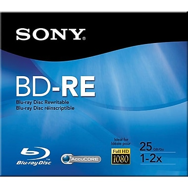 Sony Rewritable BD-RE BLU-RAY DISC™
