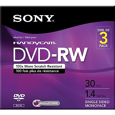 Sony Mini DVD-RW 3/Pack