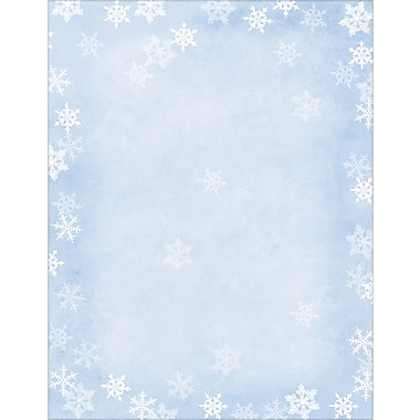 Winter Flakes Stationery, Envelopes & Mailing Labels