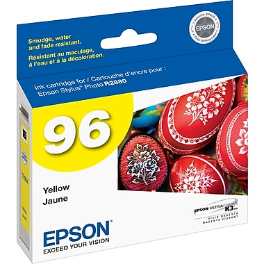 Epson® 96 (T096420) 96 Ink Cartridge, Yellow