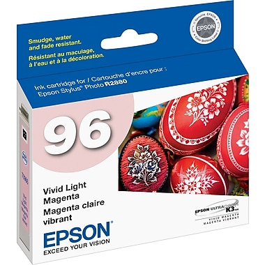 Epson 96 Vivid Light Magenta Ink Cartridge (T096620)
