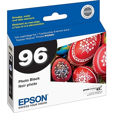 Epson 96, Photo Black Ink Cartridge (T096120)