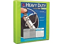 1-1/2' Avery® Heavy-Duty View Binder with One Touch™ EZD® Rings, Bright Green