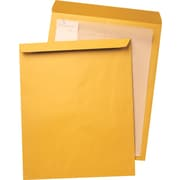 "Quality Park Ungummed Open-End Jumbo Envelopes, 14"" x 18"", Brown, 25/Bx"