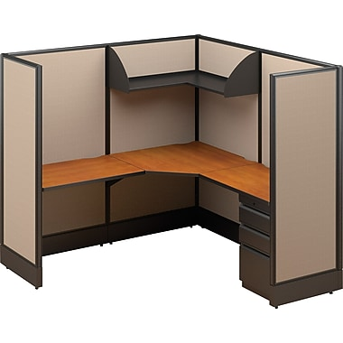 Single Workstation Solution, 66in. x 72in. x 72in.