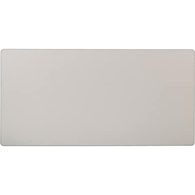 basyx by HON 5' Rectangular  Laminate Training Table Top, Light Gray, 30in. Wide