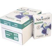 "Navigator® Premium Recycled Multipurpose Paper, White, 8 1/2""(W) x 11""(L), 5000/Ctn"