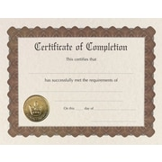 Great Papers® Certificate of Completion
