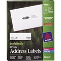 Avery® 48462 EcoFriendly White Inkjet/Laser Address Labels, 1-1/3in. x 4in., 1,400/Box