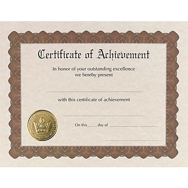 Great Papers® Achievement Certificate