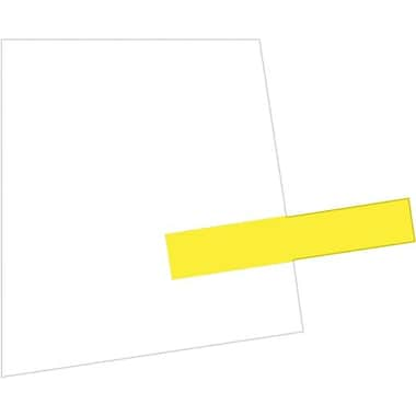 Redi-Tag® Removable/Reusable Small Page Flags, Yellow