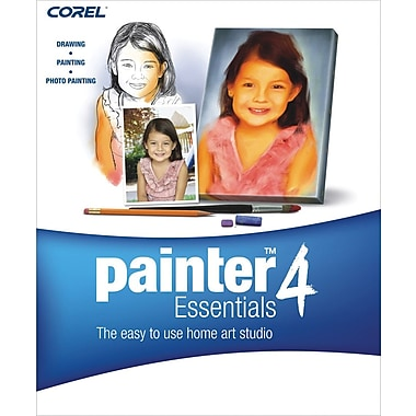 Corel Corporation Painter Essentials 4 for Windows/Mac (1-User) [Boxed]