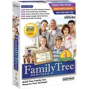 Individual Software Family Tree Heritage Deluxe 7 for Windows (1-User) [Boxed]