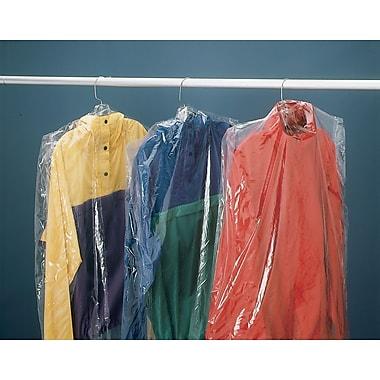 Sacs à vêtement en polyéthylène, 21 po x 4 po x 38 po, 510/rouleau