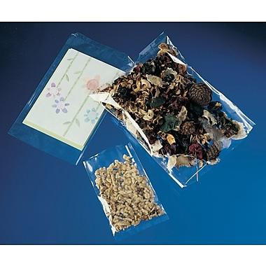 Sacs en polyéthylène plats de 1,5 mil, 8 po x 10 po, 1 000/paquet