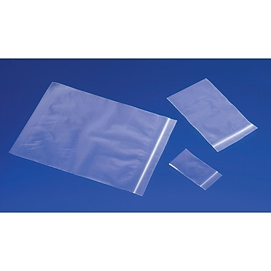 2-Mil Reclosable Polyethylene Bags, 16