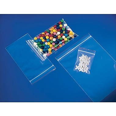 Reclosable Bubble Cushioned Bags, 6in. x 8in.