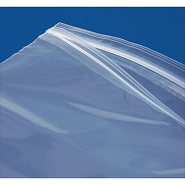 4-Mil Double-Track Reclosable Polyethylene Bags, 12