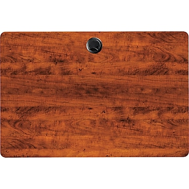 Alera Valencia Series 3' Woodgrain Laminate Training Table Top, Medium Cherry
