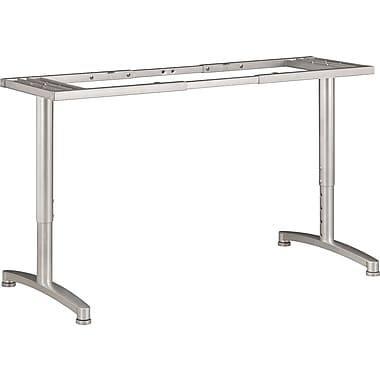 basyx by HON Adjustable Table Top T-Leg Base for 24in. and 30in. Deep Tops
