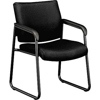 basyx VL443 Fabric Guest Chair, Black