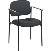 basyx by HON HVL616 Stacking Guest Chair, Black
