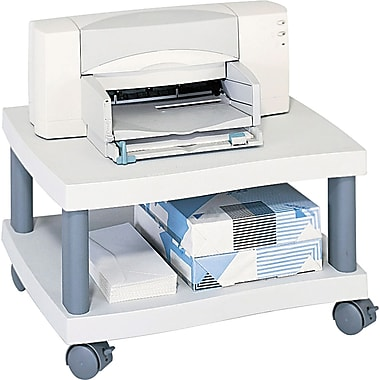 Safco® Wave Design Mobile Under Desk Printer Stand