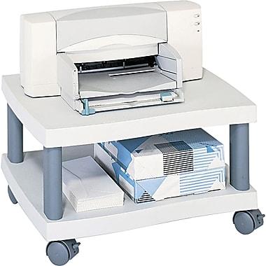 Safco® Wave Design Mobile Under Desk Printer Stand