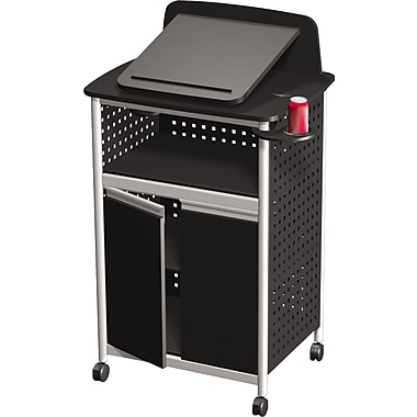 Safco®  Scoot Multipurpose Lectern, Black