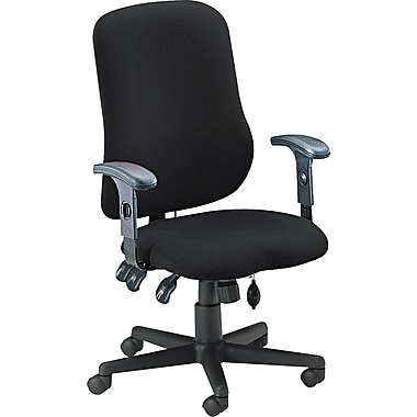 Tiffany Industries™ Comfort Series Contoured Support  Chair, Black