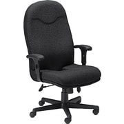 Tiffany™ Comfort Series Executive High Back Swivel/Tilt Chair, Black