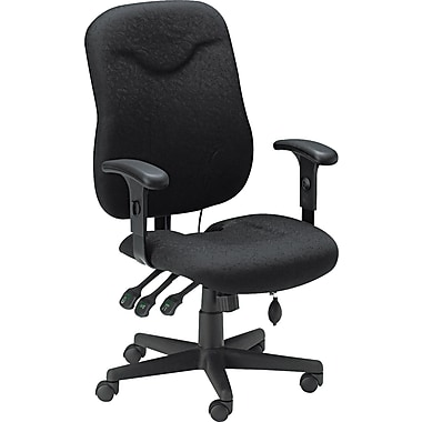 Tiffany Industries Executive Posture Swivel/Tilt Chair. Black