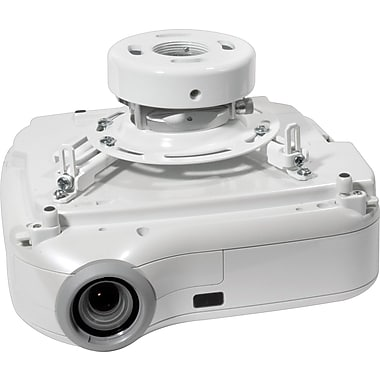 Peerless PRS-UNV-W 25lb Capacity Universal Ceiling Projector Mount (White)