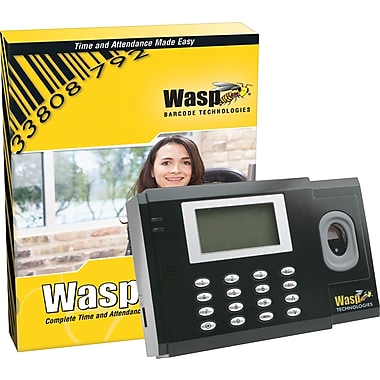 Wasp® B1000 Biometric Time Clock With WaspTime Time & Attendance System