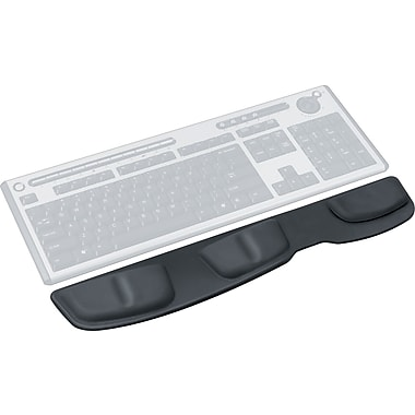 Fellowes Keyboard Palm Support - Leatherette Black
