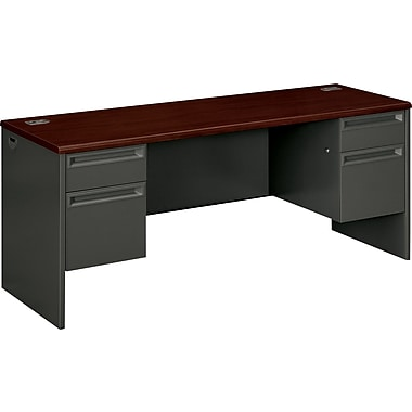 HON 38000 Series Double Credenza for Office Desk or Computer Desk, 72in.W
