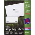 Avery® 48163 EcoFriendly White Inkjet/Laser Shipping Labels, 2in. x 4in., 1,000/Box