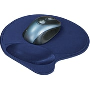 Kensington Mouse Pad with Wrist Pillow, Blue