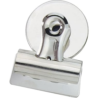 Staples® Magnetic Bulldog Clip, 1-1/4
