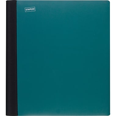 Staples® Accel® Spine Guard™Notebook, 3 Subject, 8-1/2