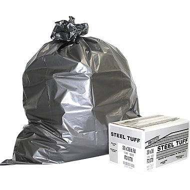 Steel Tuff Extra-Heavy Duty Can Liner, 60 gallon, 50/Box