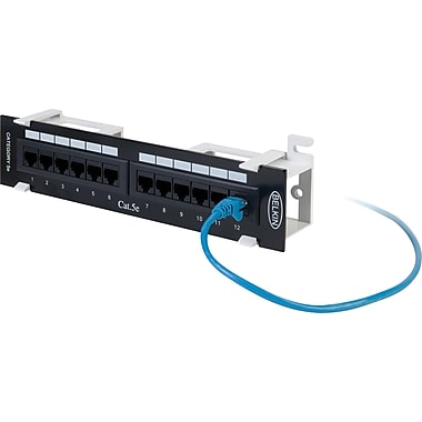 Belkin 12-Port CAT5e Patch Panel