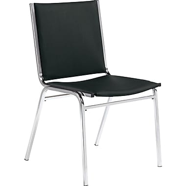 Global Stack Chair without Arms, Black