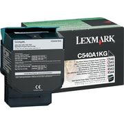 Lexmark Black Toner Cartridge (C540A1KG), Return Program